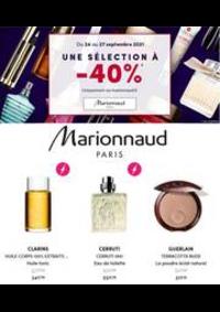 Prospectus Marionnaud HOUDEMONT : UNE SÉLECTION Á -40%