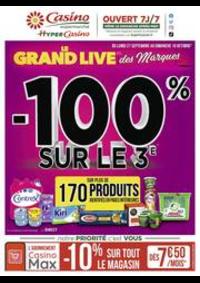 Prospectus Supermarchés Casino PARIS 27- 31 rue de Bagnolet : Le grand live des marques