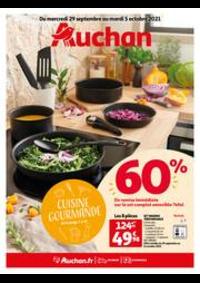 Prospectus Auchan ISSY LES MOULINEAUX : Cuisine gourmande