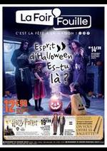 Prospectus La Foir'Fouille : 2121 Esprit Halloween