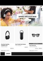 Prospectus Bose : Offres Spéciales