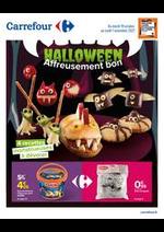 Prospectus Carrefour : HALLOWEEN Affreusement bon