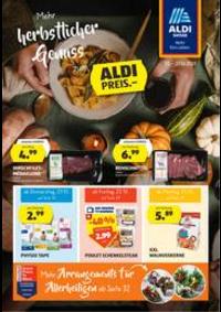 Prospectus Aldi Bern - Eigerstrasse  : Aldi reklamblad