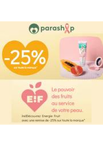 Promos et remises Parashop : Energie Fruit avec une remise de -25%