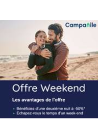 Prospectus Campanile Restaurants Dole : Campanile Offre Weekend