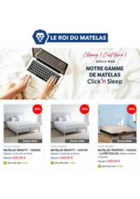 Prospectus Le Roi du Matelas Wittenheim : Click'n Sleep Promotions