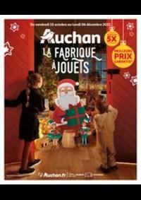 Prospectus Auchan WOIPPY : La fabrique à jouets!