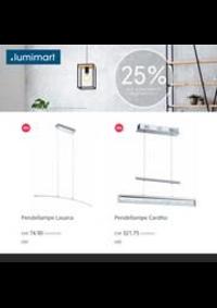 Prospectus Lumimart Allaman : 25% auf Eglo online!