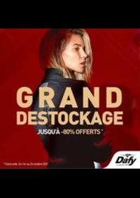 Prospectus DAFY MOTO METZ : GRand Destockage
