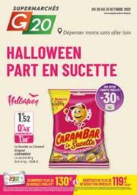 Prospectus G20 PARIS 4 St-Antoine : Halloween Part en Sucette