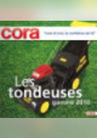 Les tondeuses - Gamme 2010 - Cora